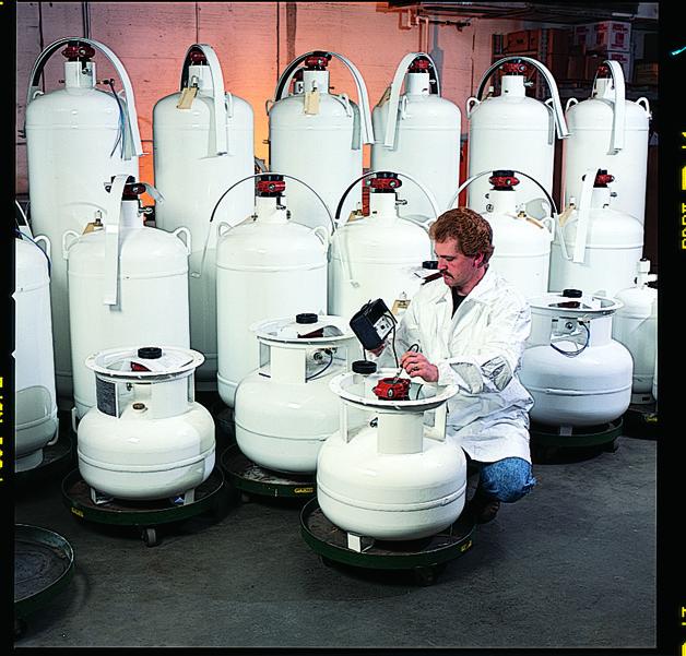 Cylinder Refilling