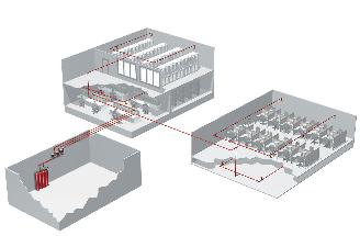 ProInert Fire Suppression Layout