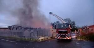Adams Cheese Factory Fire