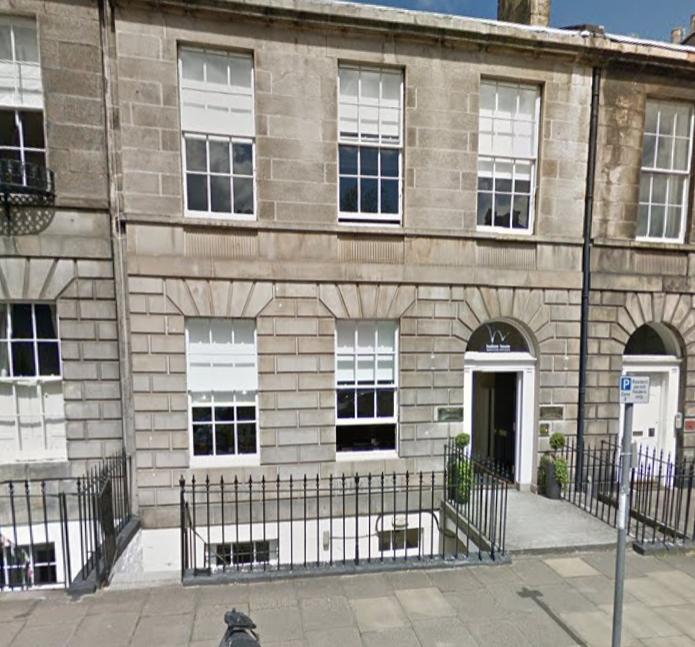 Concept Fire Suppression - Scotland Office