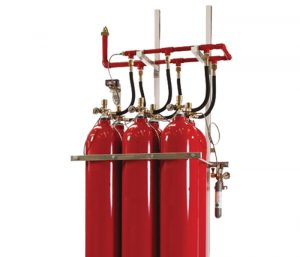 Inert Gas Cylinders and Manifold
